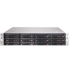 Supermicro Storage JBOD Chassis 2U 826BE1C-R741JBOD Up to 12 x 3.5''