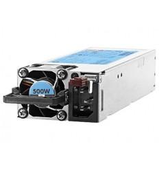 HPE Hot Plug Redundant Power Supply Flex Slot Platinum 500W Option Kit for DL360
