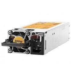HPE Hot Plug Redundant Power Supply Flex Slot Platinum 800W Option Kit for DL360