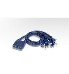 ATEN 4 PORT USB KVM Switch