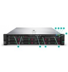 HPE DL38X Gen10 8xSFF Box1 or Box2 Cage