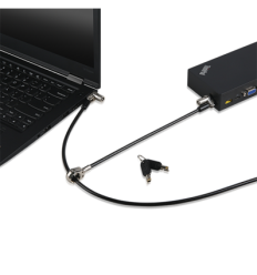 Lenovo для ноутбука Kensington MicroSaver 2.0 Twin Cable Lock from Lenovo (T-Bar Locking Technology)