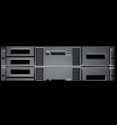 HPE MSL2024 LTO7 15000 FC Lib (incl. 1 x AK379A)