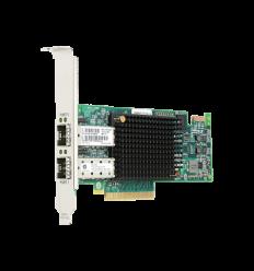 HPE SN1100E Dual Channel 16Gb FC Host Bus Adapter PCI-E 3.0 (LC Connector)
