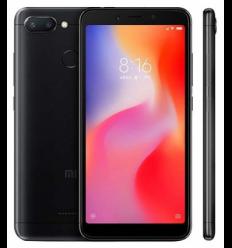 Xiaomi Redmi 6 black smartphone 5.45'' (1440x720)