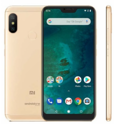 Xiaomi Mi A2 Lite gold smartphone 5.84'' (1080x2280)