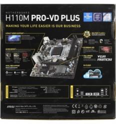 MSI H110M PRO-VD PLUS (Socket 1151)