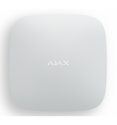 Ajax Hub White (Интеллектуальная централь - 2 канала связи (GSM + Ethernet)