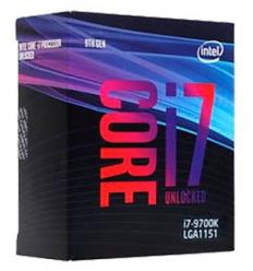 Intel CPU Intel Core i7-9700K (3.6GHz)