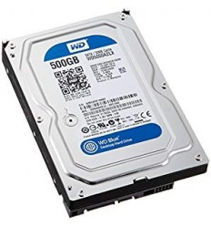 Western Digital HDD SATA-III 500Gb Blue WD5000AZLX