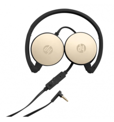 HP Inc. Stereo 3.5mm Headset H2800 (Black w. Silk Gold)