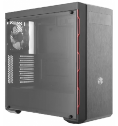 Cooler Master MasterBox MB600L ATX Red Trim