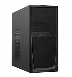 POWERMAN MidiTower Powerman ES862 Black PM-400ATX 2*USB 2.0
