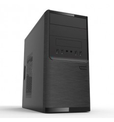 POWERMAN Slim Case Powerman EL501 Blackr PM-300ATX 2*USB 3.0