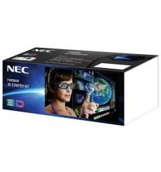 NEC для проектора NEC 3D Starter Kit: стерео-комплект для проекторов NEC