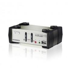 ATEN 2 Port USB2.0 KVMP Switch with OSD