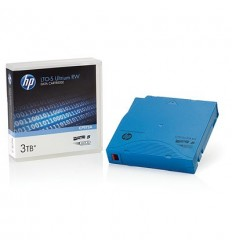 HPE Ultrium LTO5 3TB bar code non custom labeled cartridge 20 pack (for libraries & autoloaders)