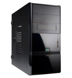 IN WIN Mini Tower InWin ENR022 Black 400W RB-S400T70 2*USB+AirDuct+Audio mATX (6100468)
