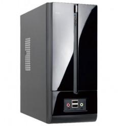 IN WIN Slim Case InWin BM639BL Black 160W 2*USB+AirDuct+Fan+Audio*6104029