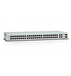 Allied Telesis 48 Port Fast Ethernet WebSmart Switch with 4 uplink ports (2 x 10)