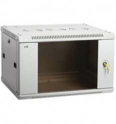 IEK LINEA W 6U 600x450 мм дверь стекло
