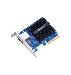 Synology 10 Gigabit Single port RJ-45 PCIe 3.0 4x adapter (incl LP and FH bracket)