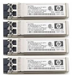HPE 10Gb SW iSCSI SFP 4 Pk for MSA2050