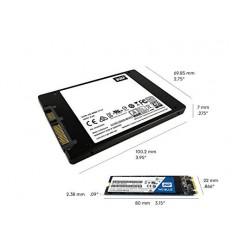 Western Digital SSD BLUE 1Tb SATA-III 2