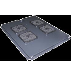 LANMASTER 2-х вентиляторов в крышу шкафа Business глубиной 600 мм