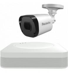 Falcon Eye FE-104MHD KIT START SMART: Регистратор 4-х канальный+Камеры:1 улич.