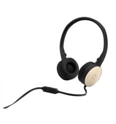 HP Inc. Stereo 3.5mm Headset H2800 (Black w. Silk Gold)