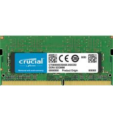 Crucial by Micron DDR4 8GB 2666MHz SODIMM (PC4-21300)