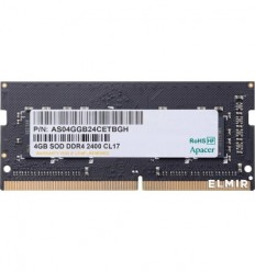 Apacer DDR4 4GB 2400MHz SO-DIMM (PC4-19200)