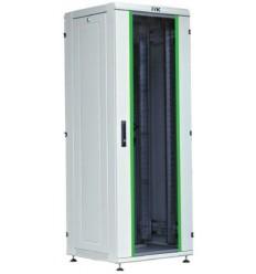 IEK 19'' LINEA N 18U 600х600 мм стеклянная передняя дверь серый