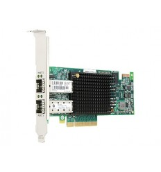 HPE SN1100E Dual Channel 16Gb FC Host Bus Adapter PCI-E 3.0 (LC Connector)
