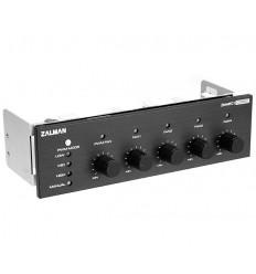 Zalman Контроллер вентиляторов 6 кан. ZM-MFC1 Combo black для управления частотами вращения 6-ти вентиляторов