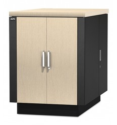 APC NetShelter CX 18U Secure Soundproofed Server Room in a Box Enclosure International